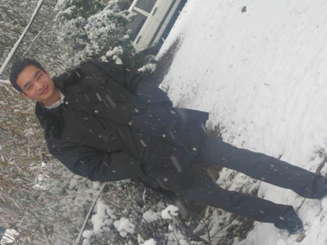 北京的飘雪